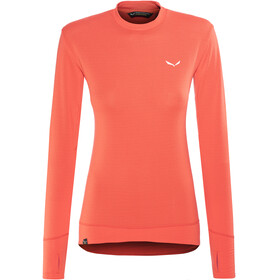 Salewa Pedroc PTC L/S Tee Women hot coral